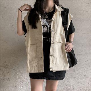 2DAWGS - Buttoned Cargo Vest