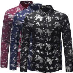 Pompadour - Jacquard Shirt