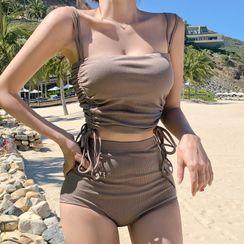 CUCURBIT - High-Waist Bikini Set