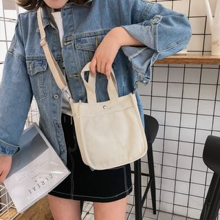 BAGSHOW(バッグショウ) - Canvas Crossbody Bag