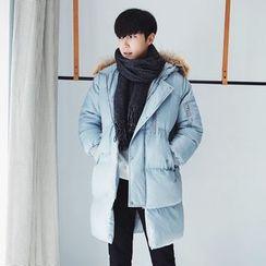 MRCYC - Furry-Trim Hooded Puffer Coat