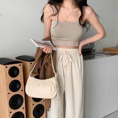 MERONGSHOP - Shirred Shoulder Bag