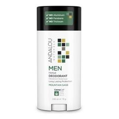 Andalou Naturals - MEN Herbal Deodorant
