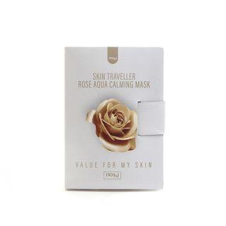 no:hj - Skin Traveller Rose Aqua Calming Mask Set