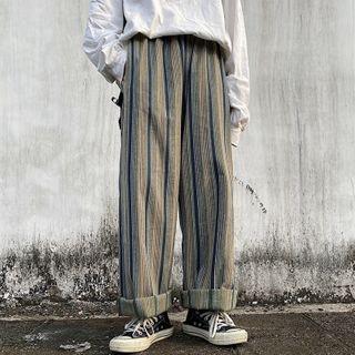 Banash - Striped Wide Leg  Pants