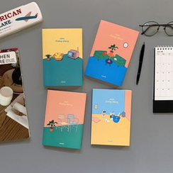 BABOSARANG - 'Today Diary' 2019 Illustration Weekly Planner (S)