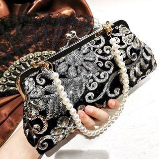LOLIBOX(ロリボックス) - Sequin Embroidered Handbag
