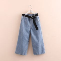 Seashells Kids - Kids Wide-Leg Jeans