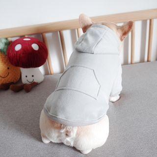 Cleo Petra - 纯色连帽宠物上衣