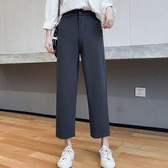 Racoon - Wide-Leg Dress Pants