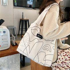 Eastin - Geometric Print Tote Bag