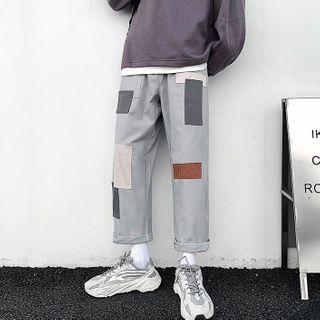 Lazi Boi - Applique Straight-Cut  Pants