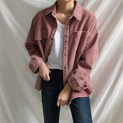 Moon City - Boxy Corduroy Jacket