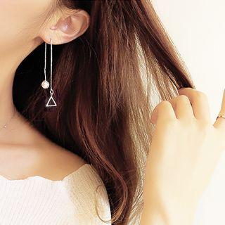 HEDGY - 心心耳環