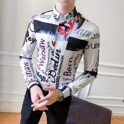 Andrei(アンドレイ) - Printed Shirt
