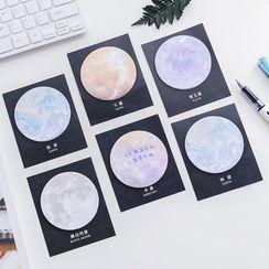 Dukson - Planet Print Sticky Note