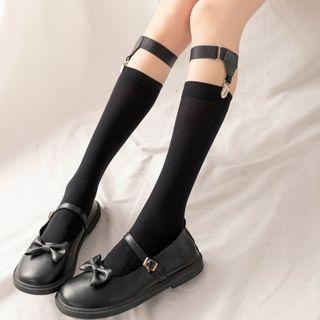 Rivara - Set: Long Socks + Garter