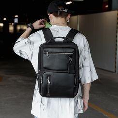 ETONWEAG - Faux Leather Backpack