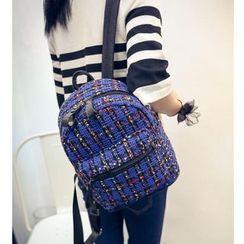 Merlain - Tweed Backpack