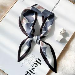 Amandier - Heart Print Neckerchief