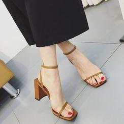 Gottabe - 粗跟涼鞋