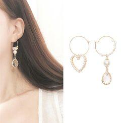 Ginga - Non-Matching Drop Earring