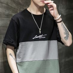 COFE - Short-Sleeve Paneled T-Shirt