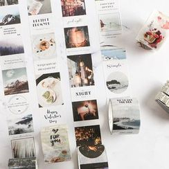 Homey House - Printed Masking Tape (various designs)