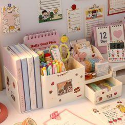 SOONERGO(スーナーゴー) - Plastic Desk Organizer