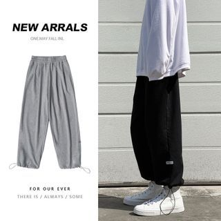 BORGO - Plain Sweatpants