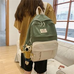 Mulgam - Color Panel Canvas Backpack