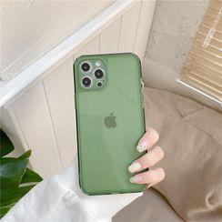 Phone in the Shell(フォーンインザシェル) - Transparent Phone Case - iPhone 12 Pro Max / 12 Pro / 12 / 12 mini / 11 Pro Max / 11 Pro / 11 / SE / XS Max / XS / XR / X / SE 2 / 8 / 8 Plus / 7 / 7 Plus