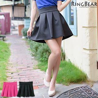 RingBear - Pleated A-Line Skirt