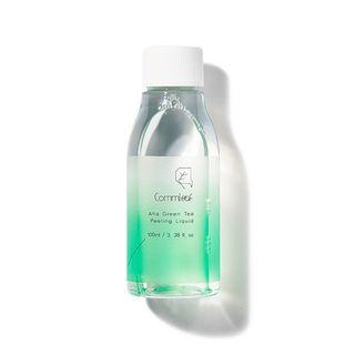 Commleaf - AHA Green Tea Peeling Liquid 100ml
