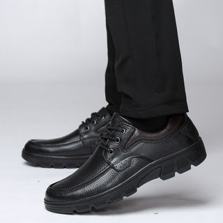 MARTUCCI - Genuine Leather Lace-Up Shoes