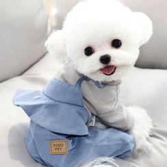Bixin - 假兩件寵物連衣褲