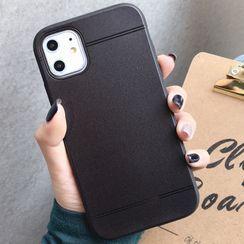 Pixel Dream - 纯色手机保护套 - iPhone 6 / iPhone 6s / iPhone 6 Plus / iPhone 6s Plus / iPhone 7 / iPhone 7 Plus / iPhone 8 / iPhone 8 Plus / iPhone X / iPhone XS / iPhone XS Max / iPhone XR / iPhone 11 / iPhone 11 Pro / iPhone 11 Pro Max