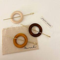 Yukami - Wooden Hoop Hair Stick