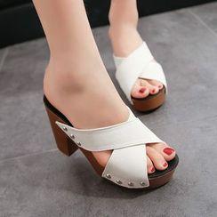FiE FiE - 粗跟厚底涼鞋