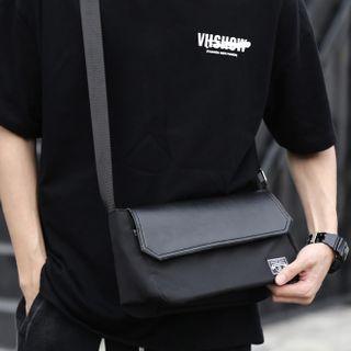 Moyyi - Faux Leather Crossbody Bag
