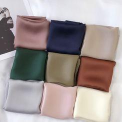 FEY TIY - 純色色丁圍巾