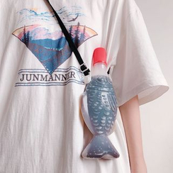 Hello minto - Fish Brooch / Water Bottle