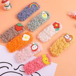 Fun House - 毛毛水果裝飾髮夾