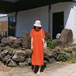YANSAE - Long T-Shirt Dress