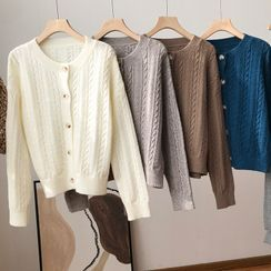 irroro - Cable Knit Cardigan