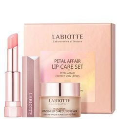 LABIOTTE - Petal Affair Lip Care Set