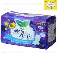 花王 - Laurier Speed Skin Cleaning Wing Sanitary Pads 30cm