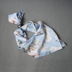 Puddingbird(プディングバード) - Floral Neck Scarf