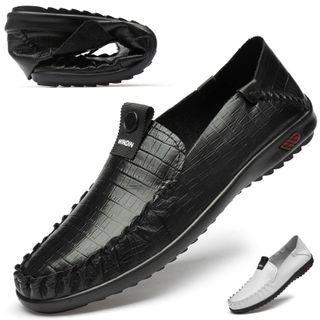 WeWolf - 鳄鱼纹真皮鞋