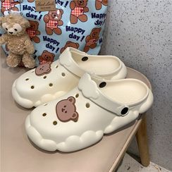 ZORI - Cartoon Bear Slide Sandals